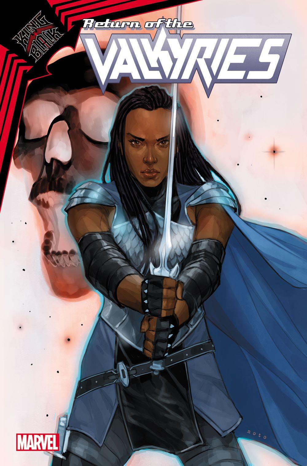 VALKYRIES2021001_Noto-var Marvel Comics January 2021 Solicitations