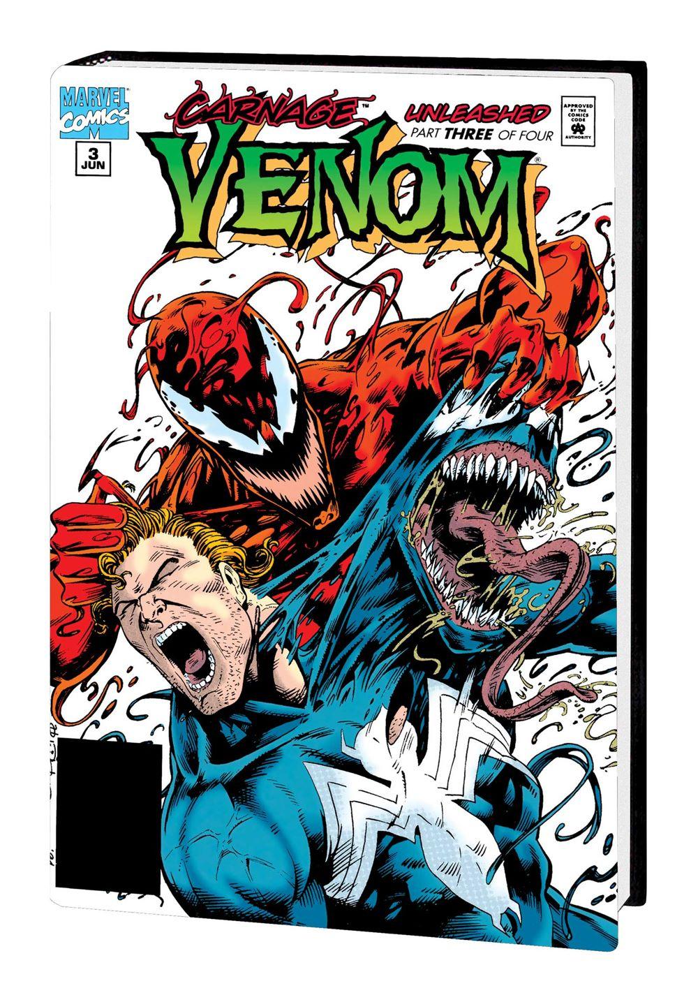 VENOM_OMNIBUS_V1_HC_DM Marvel Comics January 2021 Solicitations