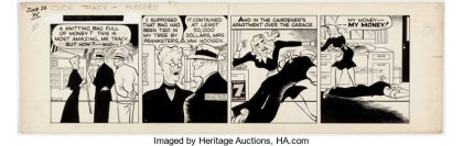 dick-tracy-300x96 Comic Strip Art Speculation: Dick Tracy Daily Comic Strip