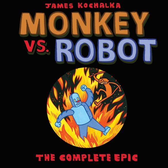 monkeyVsRobot_theCompleteEpicTPB-pr-1 ComicList Previews: MONKEY VS ROBOT THE COMPLETE EPIC TP