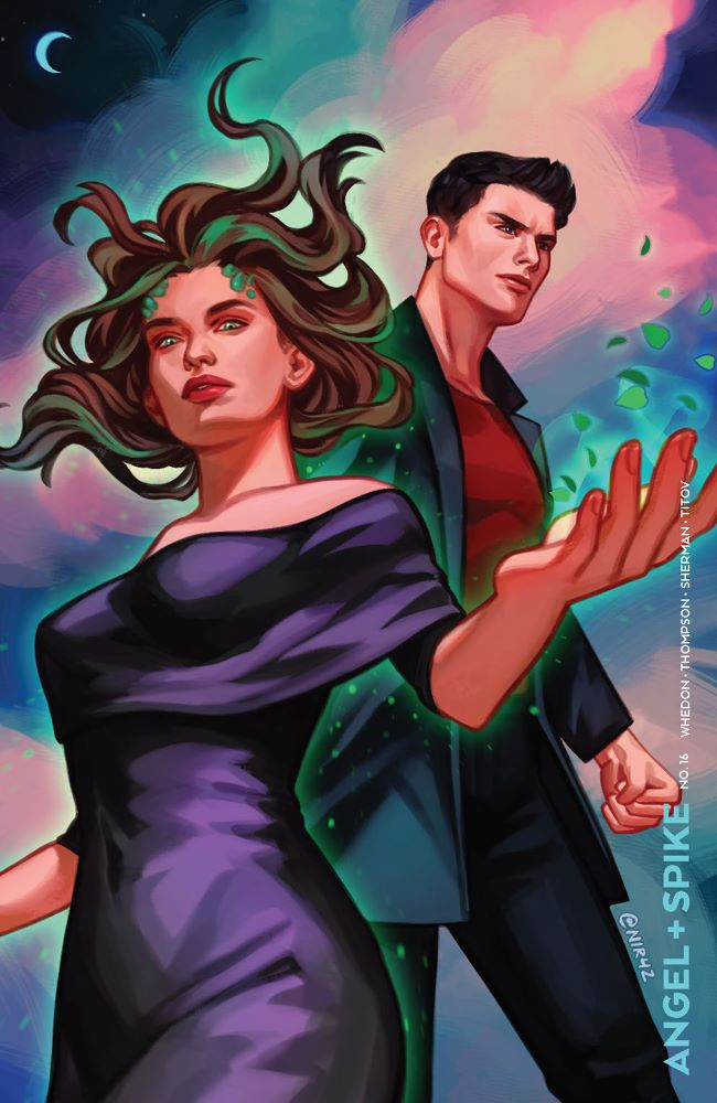 Angel_016_Cover_C_Variant ComicList Previews: ANGEL AND SPIKE #16