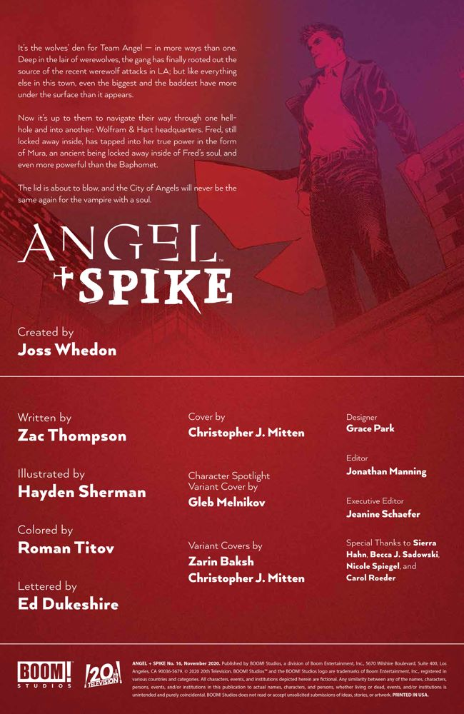 Angel_016_PRESS_2 ComicList Previews: ANGEL AND SPIKE #16