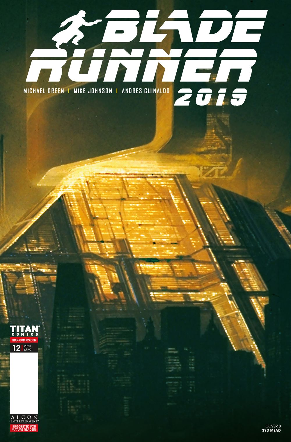 BR12_00_Cover_B ComicList Previews: BLADE RUNNER 2019 #12