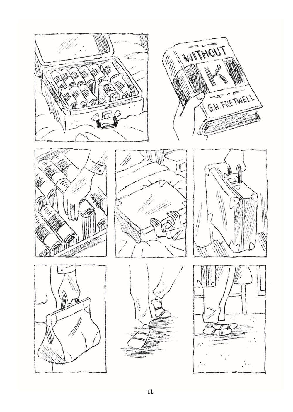BookTour_pr-7 ComicList Previews: THE BOOK TOUR GN