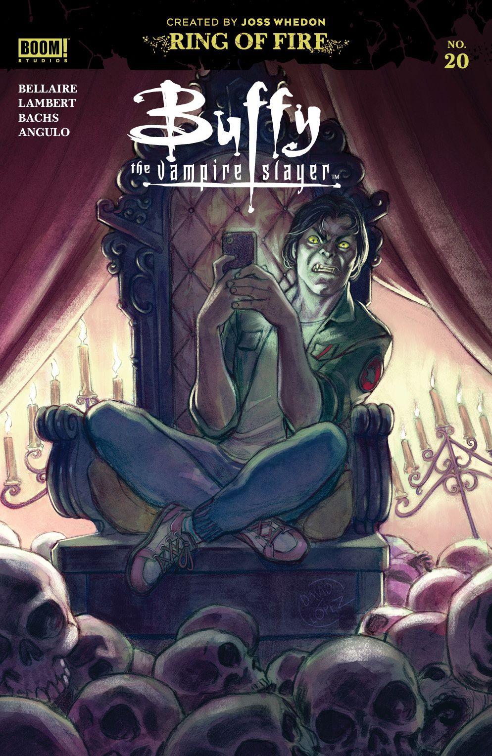 Buffy_020_Cover_A_Main ComicList Previews: BUFFY THE VAMPIRE SLAYER #20
