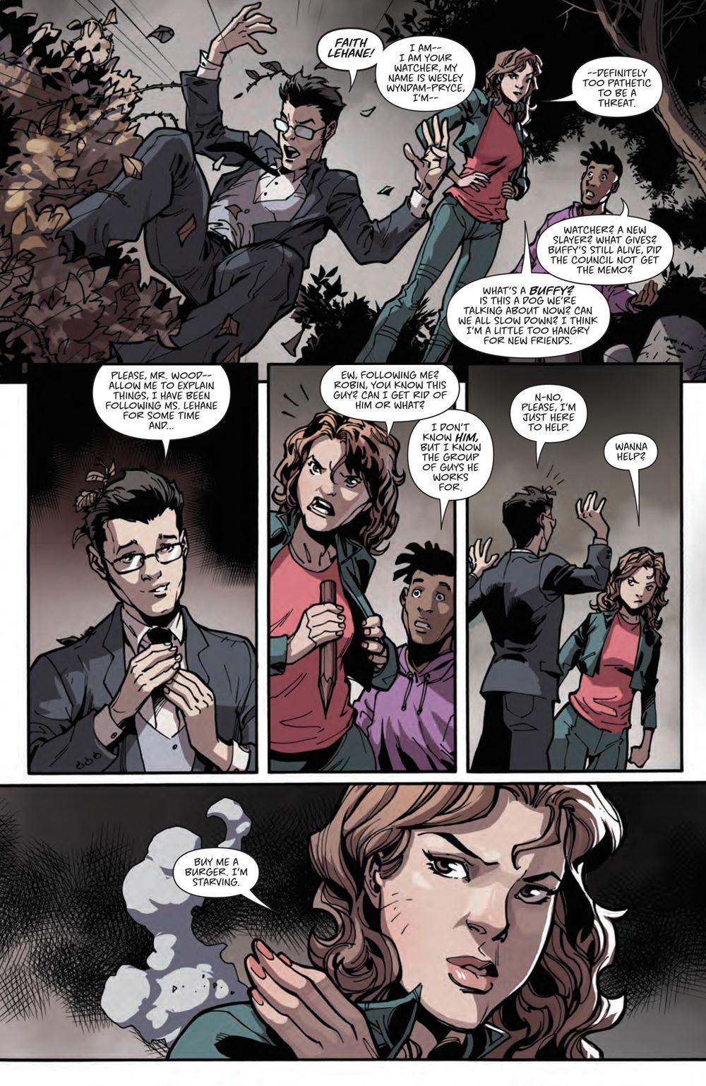 Buffy_020_PRESS_8 ComicList Previews: BUFFY THE VAMPIRE SLAYER #20