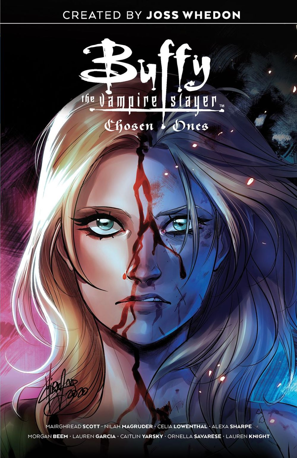 Buffy_ChosenOnes_SC_Cover ComicList Previews: BUFFY THE VAMPIRE SLAYER CHOSEN ONES TP