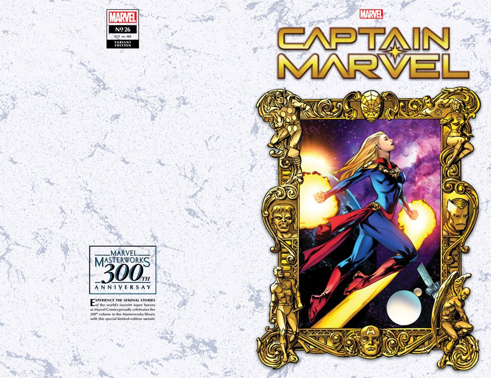 CAPMARV2019026_Lupacchino_Masterworks Marvel Masterworks' 300th volume honored on single issue variant covers