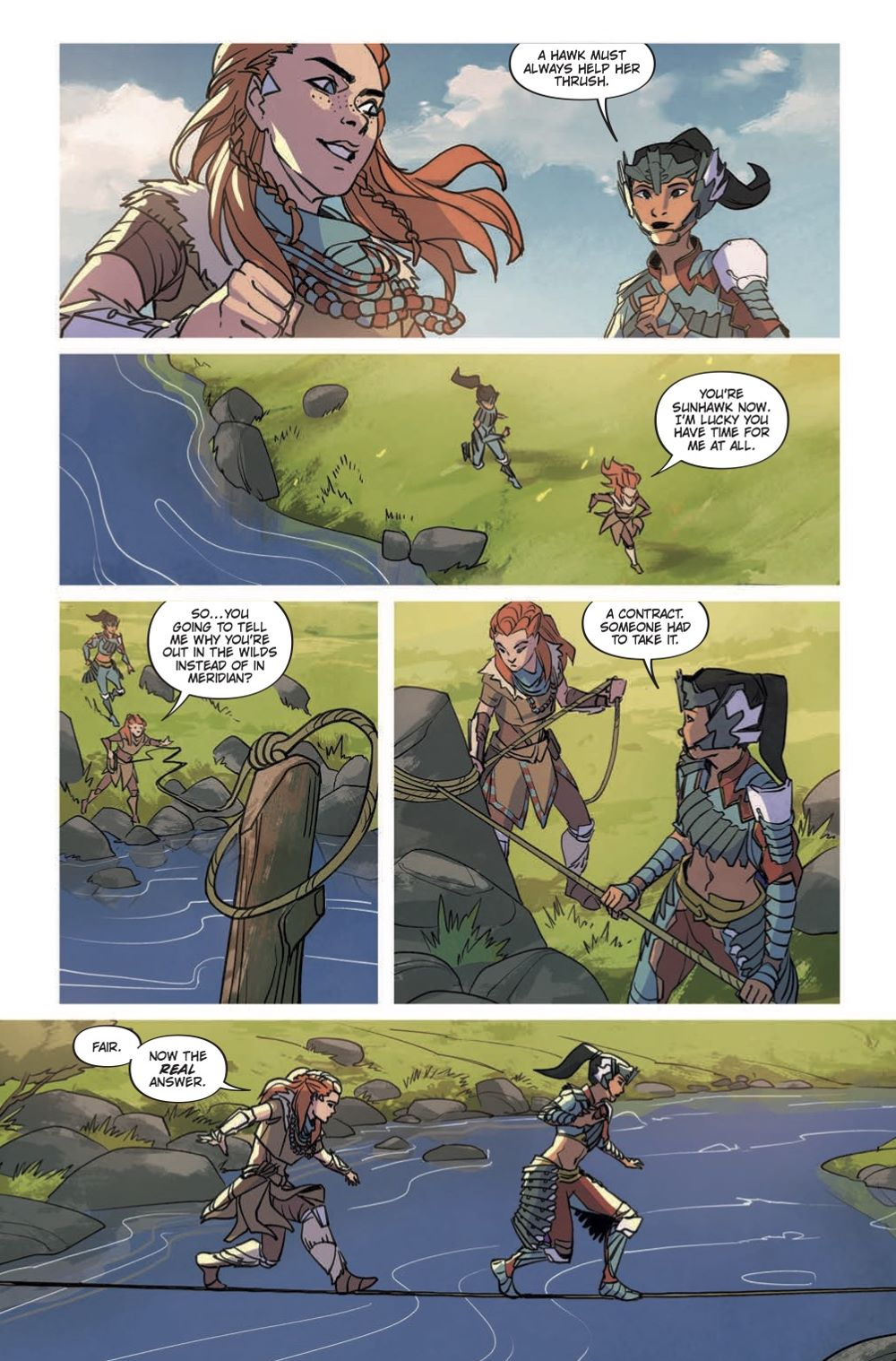 HZD_Comics-List-4 Special preview of Titan Comics' HORIZON ZERO DAWN VOLUME 1