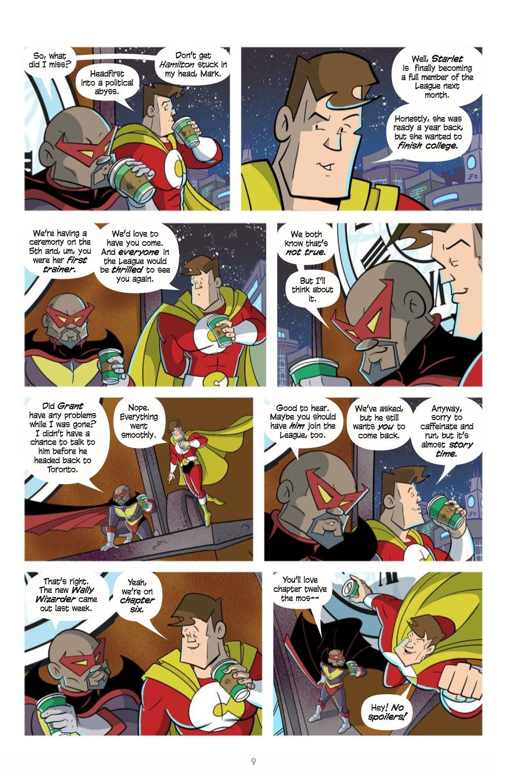 LoveandCapes_V5_pr-5 ComicList Previews: LOVE AND CAPES VOLUME 5 THE FAMILY WAY TP