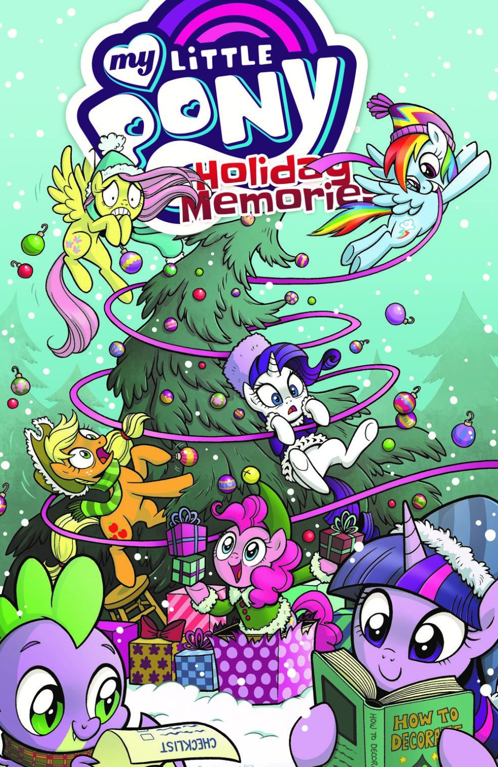 MLP_HolidayMemories_cvr ComicList Previews: MY LITTLE PONY HOLIDAY MEMORIES TP