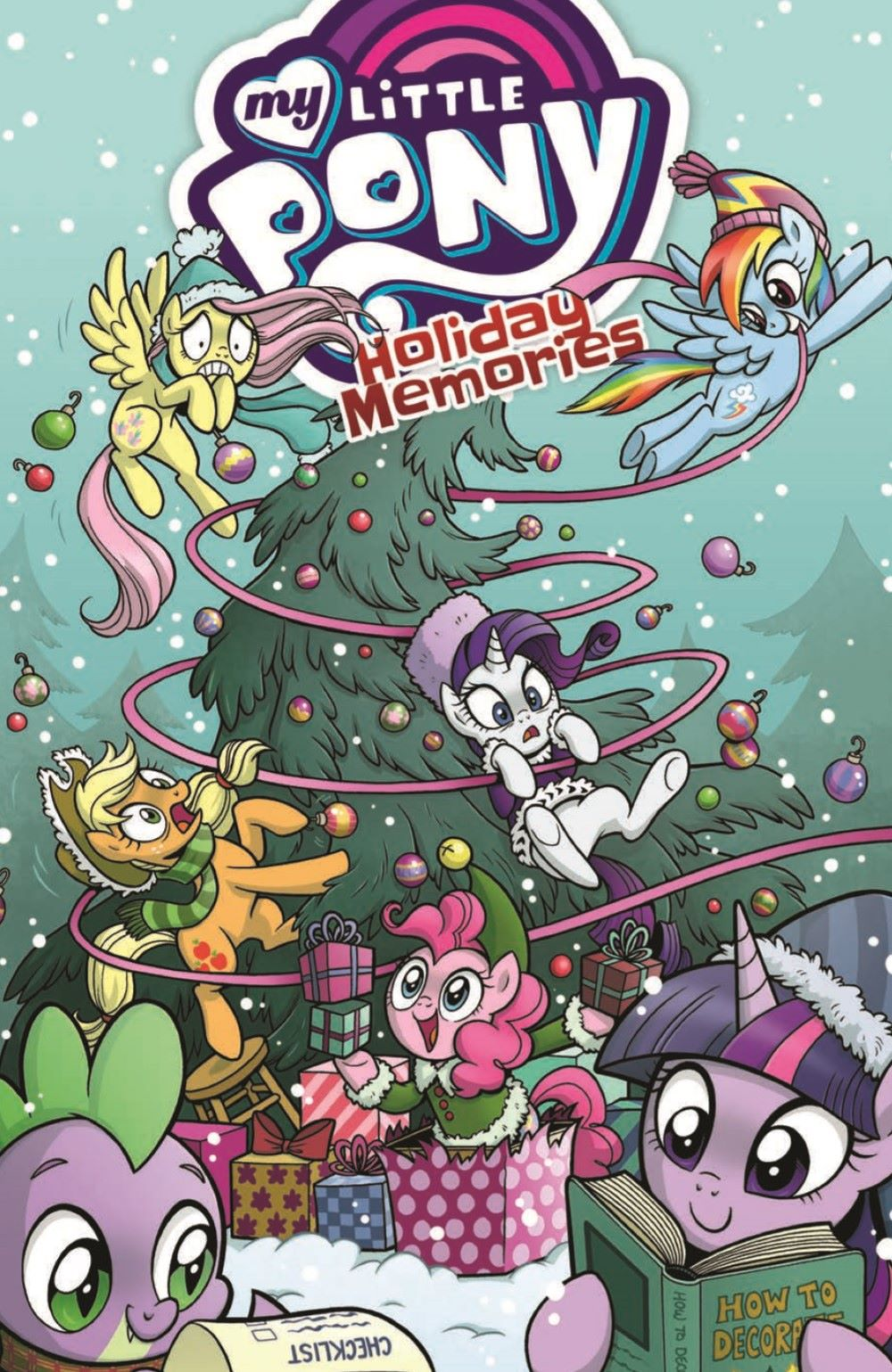 MLP_HolidayMemories_pr-1 ComicList Previews: MY LITTLE PONY HOLIDAY MEMORIES TP