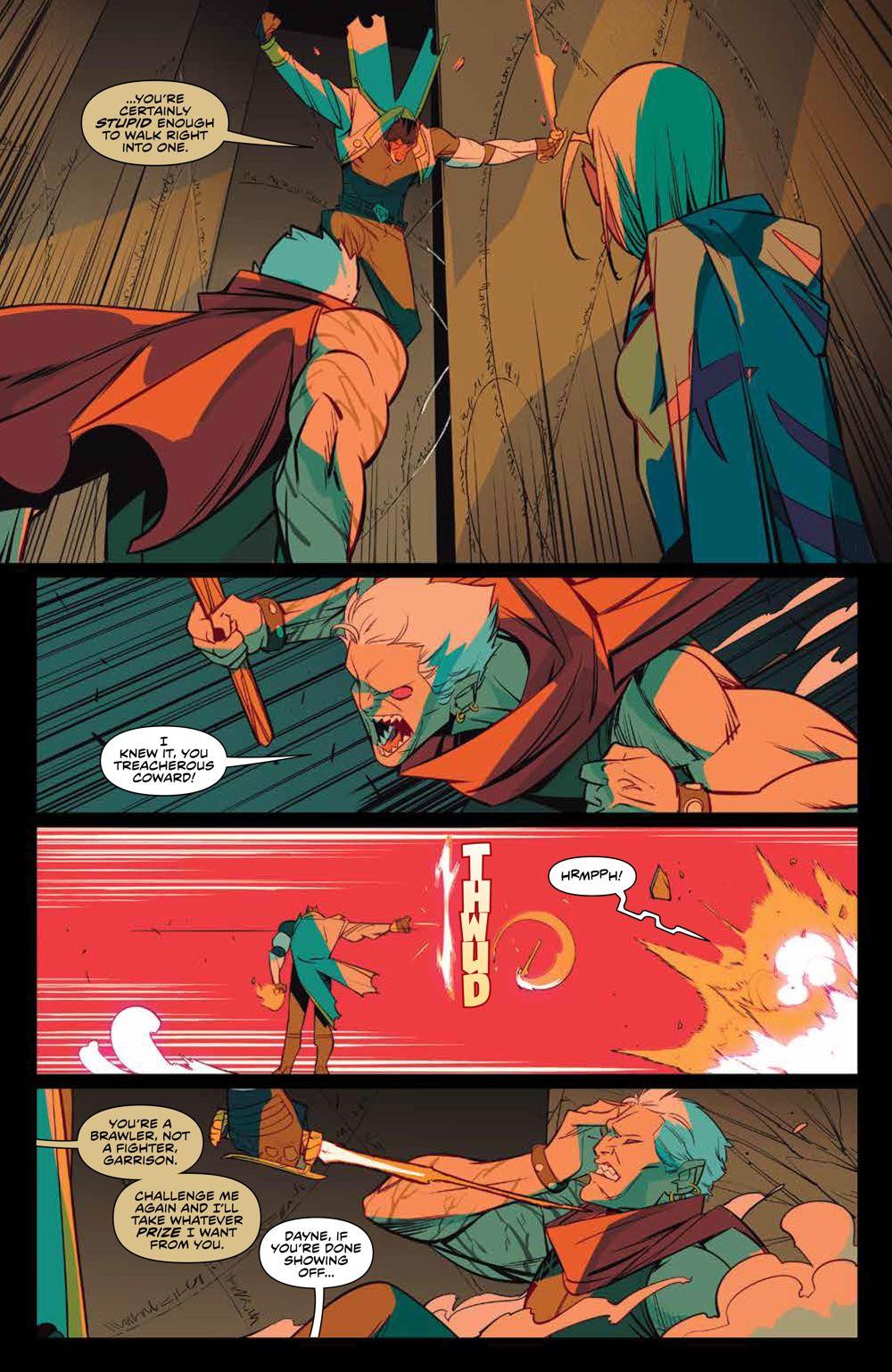 MMPR_v13_SC_PRESS_8 ComicList Previews: MIGHTY MORPHIN POWER RANGERS VOLUME 13 TP