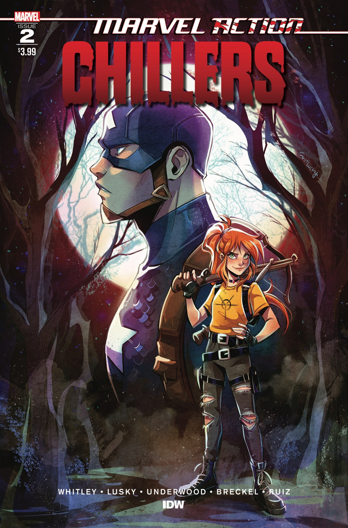 MarvelCHILLERS_02_CvrA ComicList: IDW Publishing New Releases for 11/25/2020