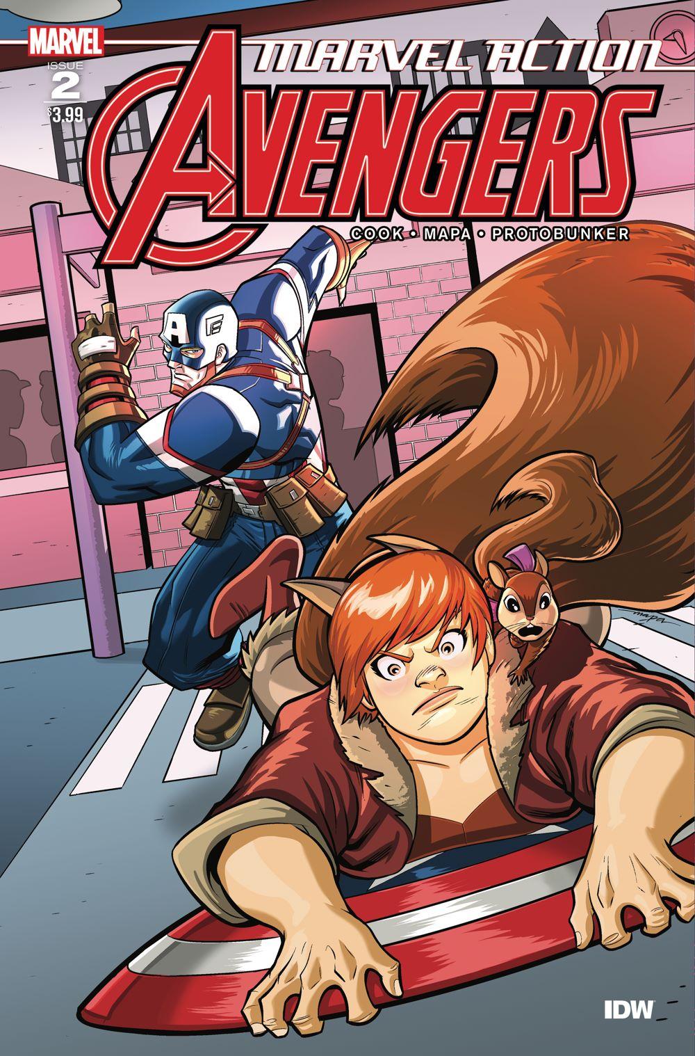 Marvel_Avengers02_coverA ComicList Previews: MARVEL ACTION AVENGERS VOLUME 2 #2