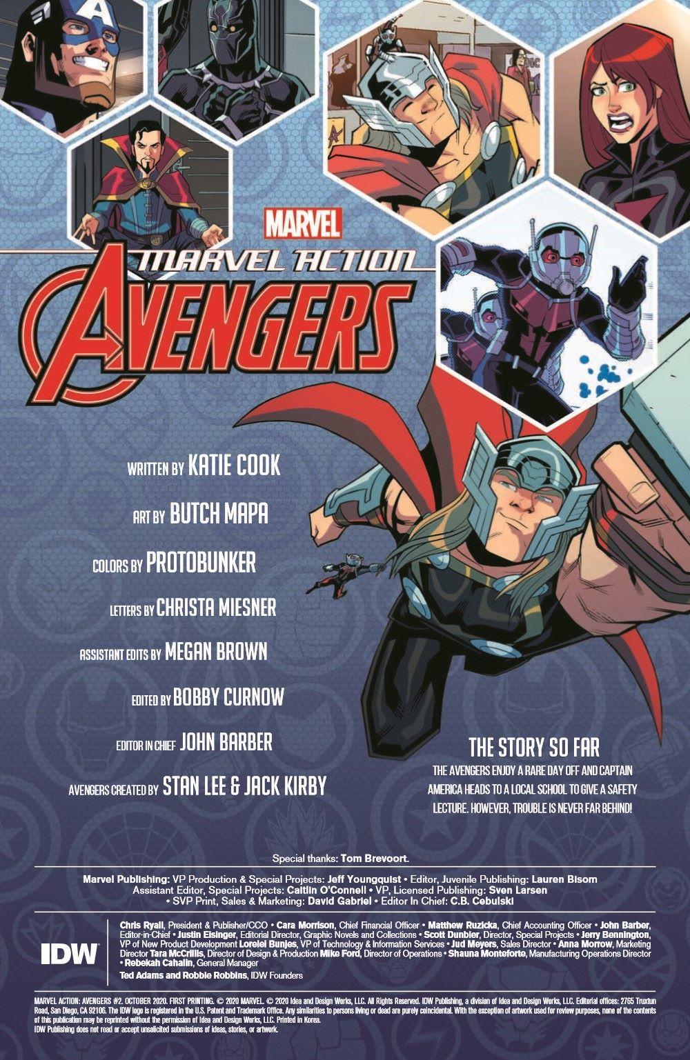 Marvel_Avengers_02_pr-2 ComicList Previews: MARVEL ACTION AVENGERS VOLUME 2 #2
