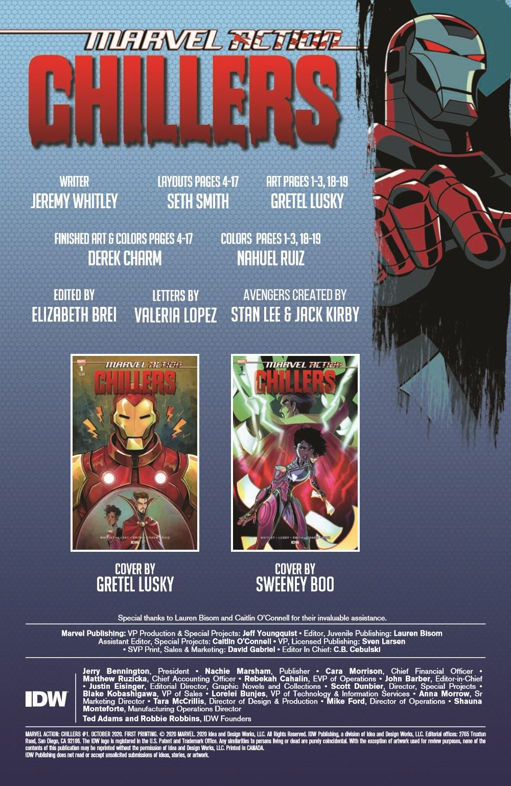 Marvel_Chillers_01_pr-2 ComicList Previews: MARVEL ACTION CHILLERS #1