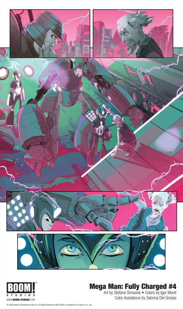 MegaMan_FullyCharged_004_InteriorArt_002_PROMO First Look at BOOM! Studios' MEGA MAN: FULLY CHARGED #4