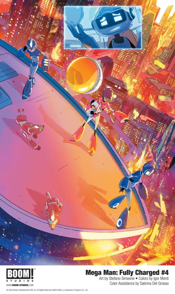 MegaMan_FullyCharged_004_InteriorArt_004_PROMO First Look at BOOM! Studios' MEGA MAN: FULLY CHARGED #4