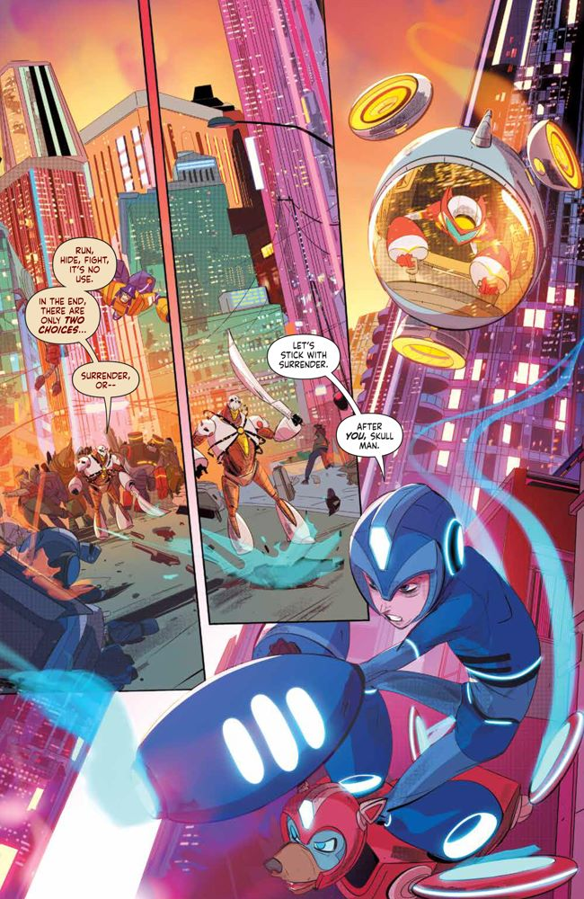 MegaMan_FullyCharged_004_PRESS_8 ComicList Previews: MEGA MAN FULLY CHARGED #4