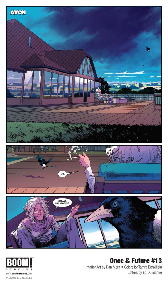OnceFuture_013_InteriorArt_001_PROMO First Look at BOOM! Studios' ONCE AND FUTURE #13