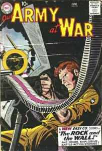 Our-Army-At-War-83-203x300 War, What's It Good For: Artists Joe Kubert and Dick Ayers