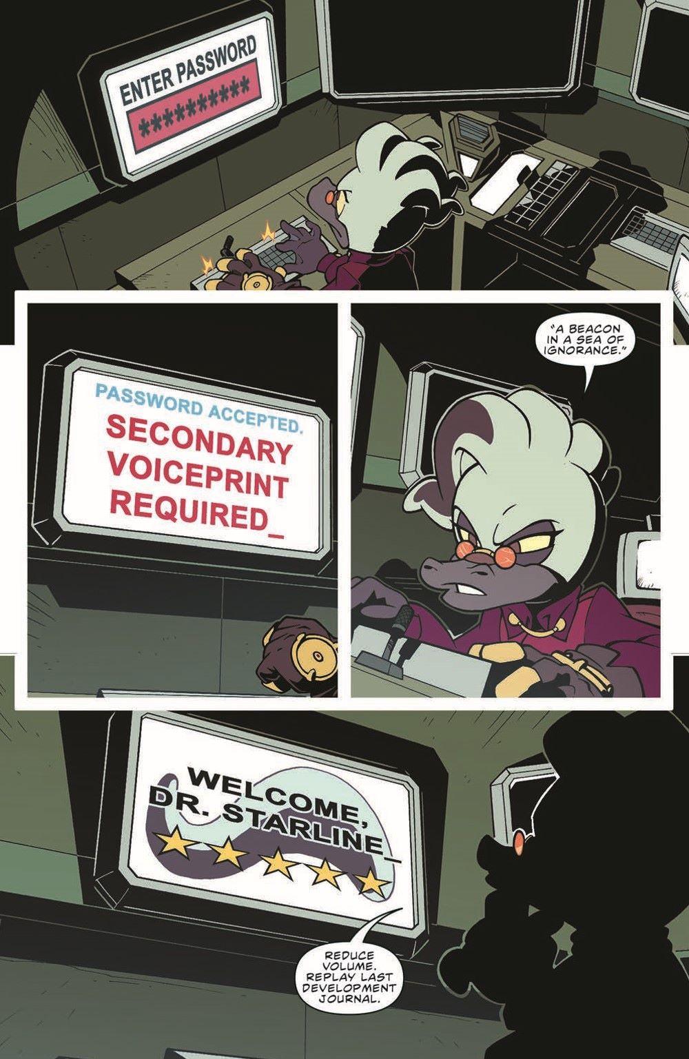 STH-BG03_pr-3 ComicList Previews: SONIC THE HEDGEHOG BAD GUYS #3 (OF 4)