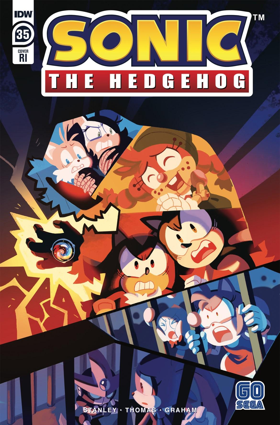 STH35_cvrRI ComicList Previews: SONIC THE HEDGEHOG #35