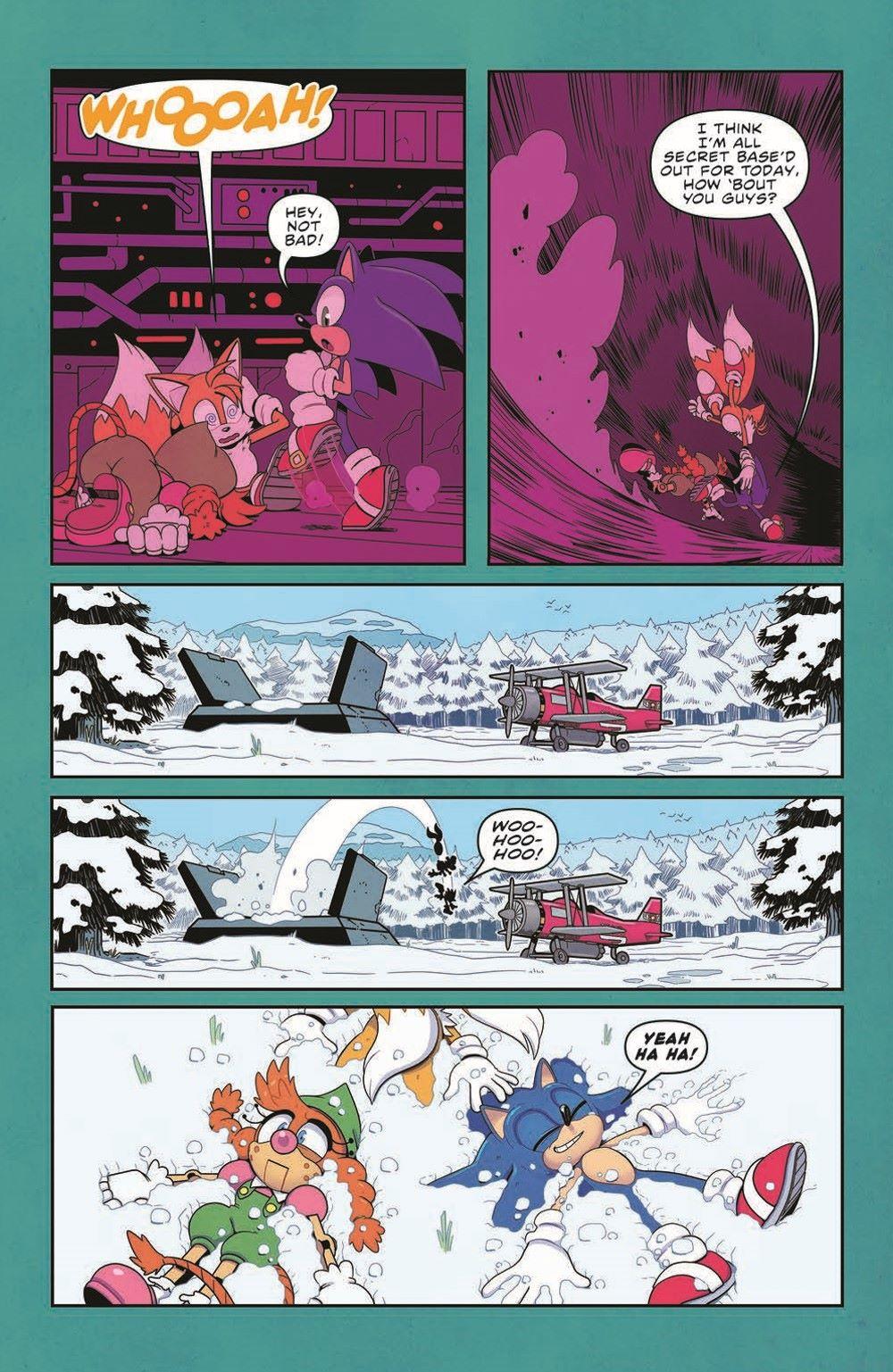 STH35_pr-6 ComicList Previews: SONIC THE HEDGEHOG #35