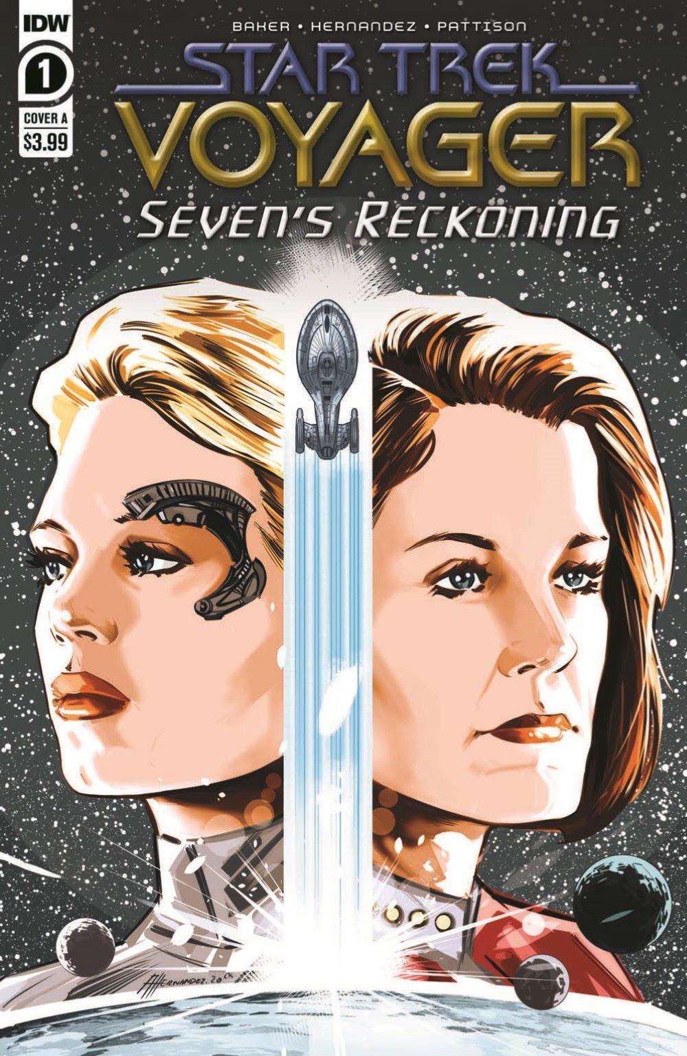 ST_Voyager_SR01-pr-1 ComicList Previews: STAR TREK VOYAGER SEVEN'S RECKONING #1 (OF 4)