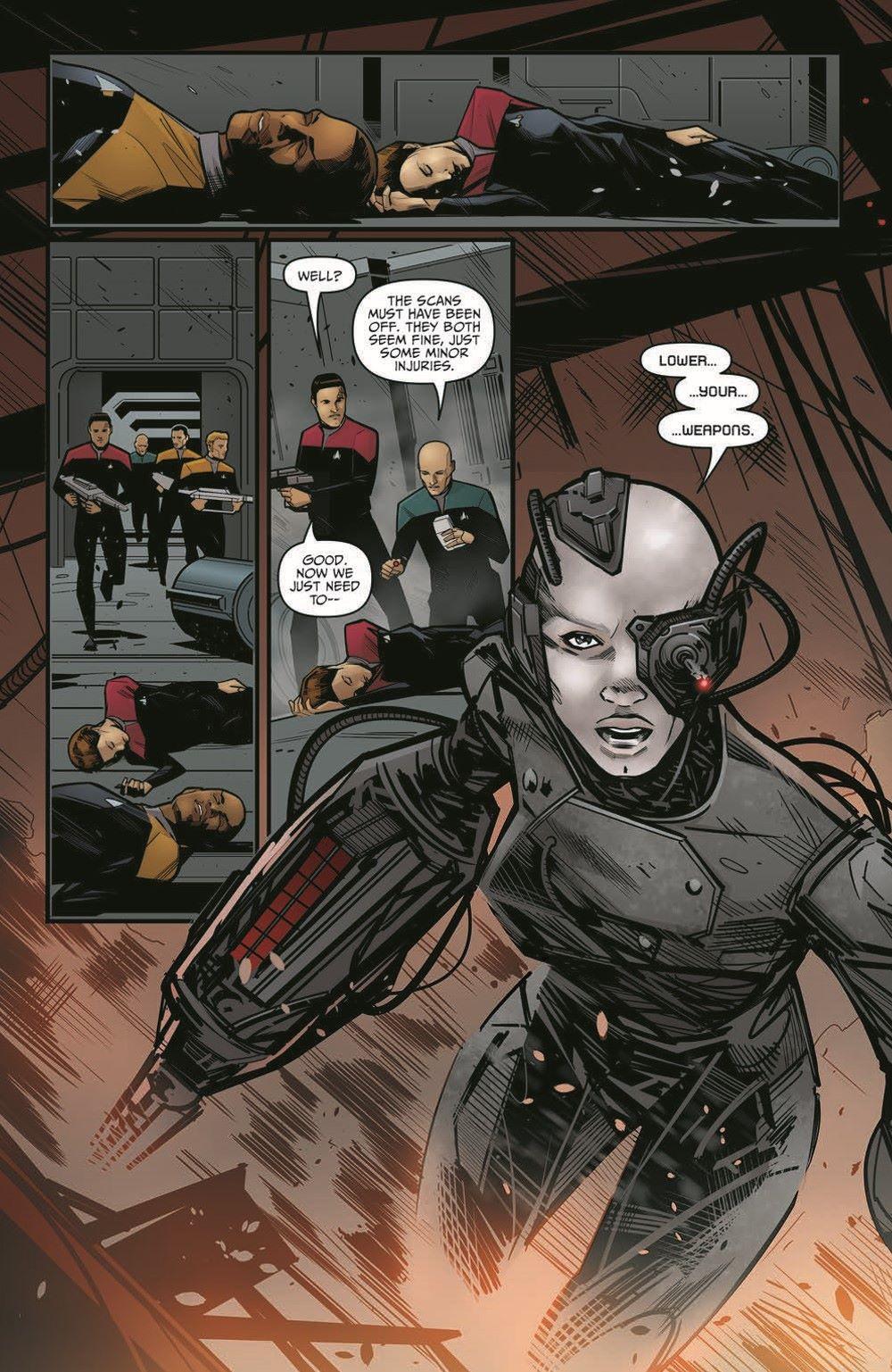 ST_Voyager_SR01-pr-3 ComicList Previews: STAR TREK VOYAGER SEVEN'S RECKONING #1 (OF 4)