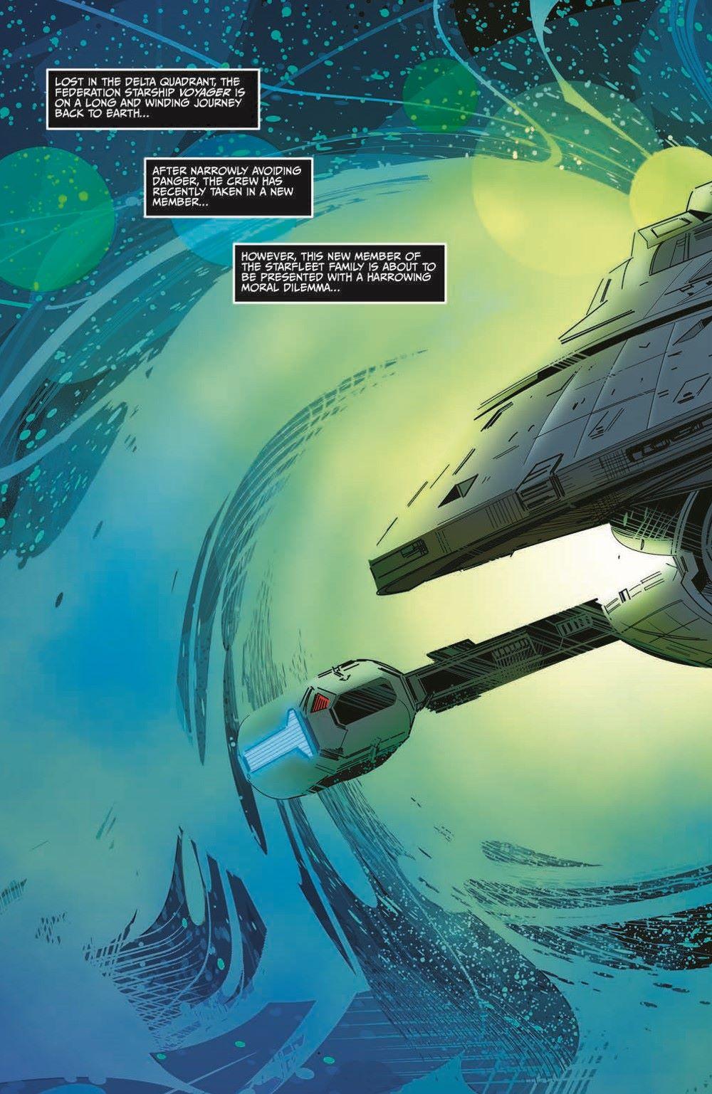ST_Voyager_SR01-pr-4 ComicList Previews: STAR TREK VOYAGER SEVEN'S RECKONING #1 (OF 4)
