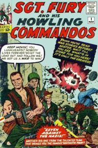 Sgt-Fury-and-His-Howling-Commandos-1-200x300 War, What's It Good For: Artists Joe Kubert and Dick Ayers