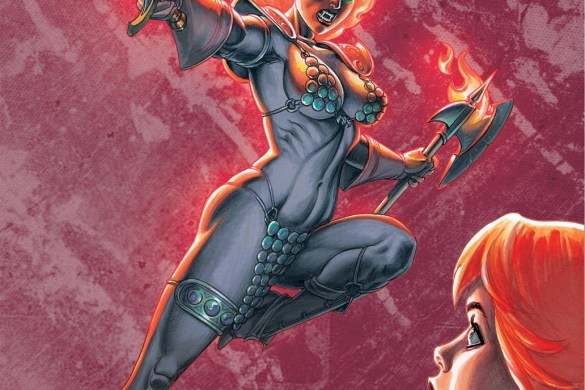 Sonjaversal-01-01021-B-Linsner Experience an unlimited number of Red Sonja variants in SONJAVERSAL