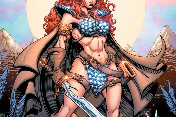 Sonjaversal-01-01031-C-Robson Experience an unlimited number of Red Sonja variants in SONJAVERSAL