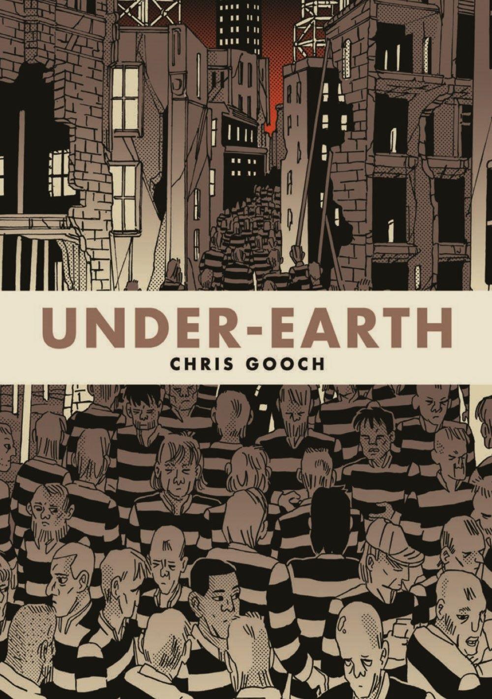 Under-Earth_pr-1 ComicList Previews: UNDER-EARTH TP