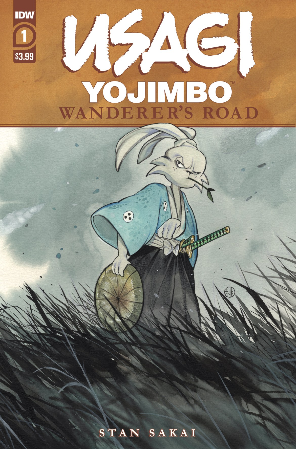 Usagi-WR01_cvrA ComicList: IDW Publishing New Releases for 11/25/2020