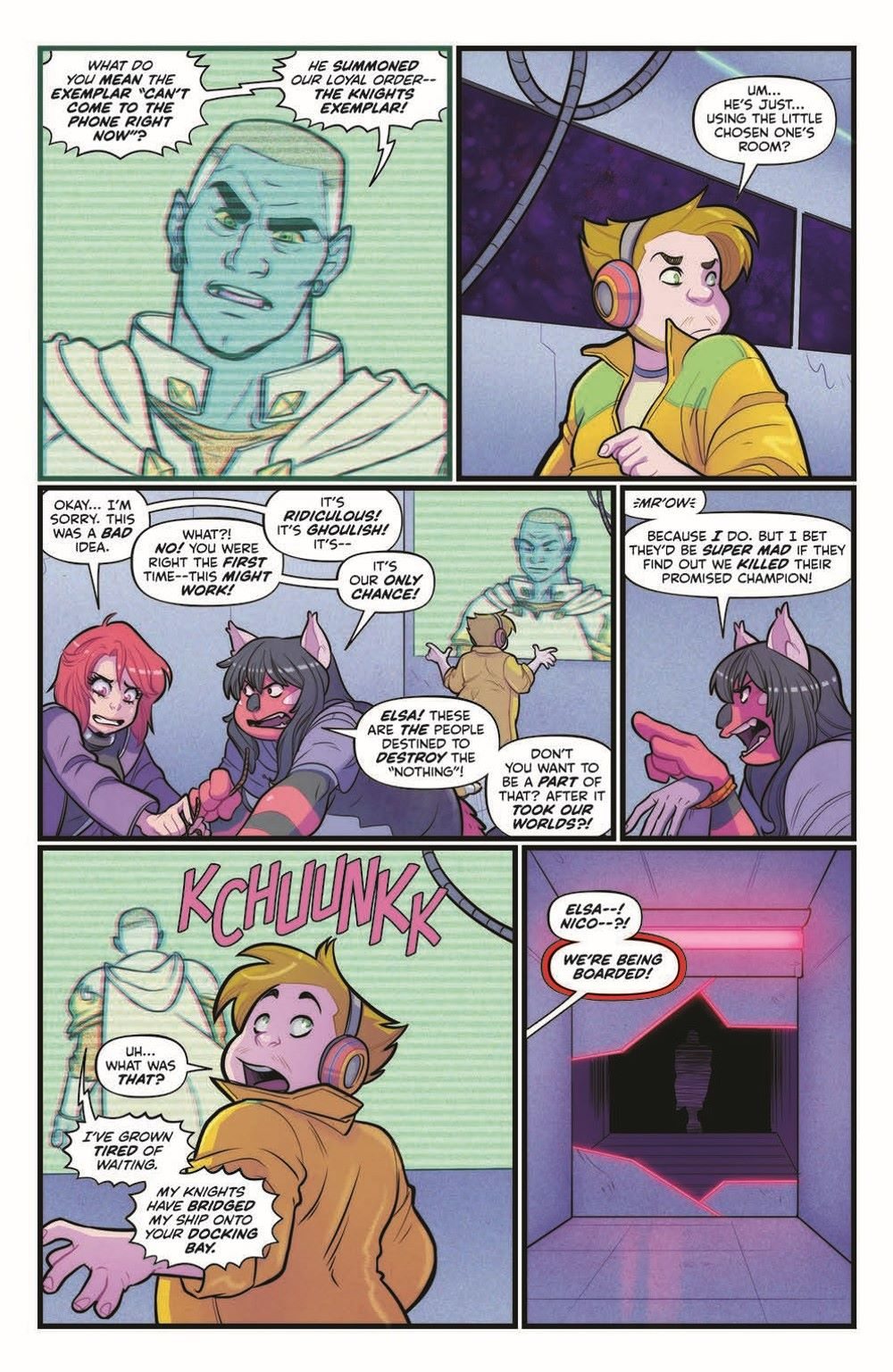 VoyageToTheStars_02-pr-4 ComicList Previews: VOYAGE TO THE STARS #3 (OF 4)