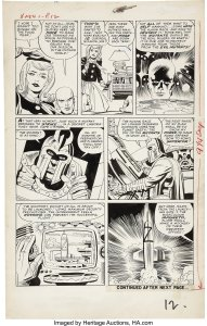 X-Men-1-Page-12-1st-Appearance-of-Magneto-by-Jack-Kirby-191x300 X-Men Artists That Rock: So Many Good Ones