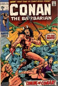 conan-the-barbarian-1-203x300 The Top Five Bronze Age Comics vs. Amazing Spider-Man #1