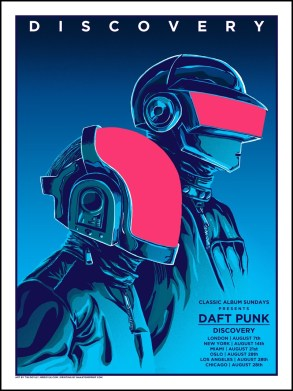 daft-punk-poster-4-225x300 Around The World: Collecting Daft Punk Concert Posters