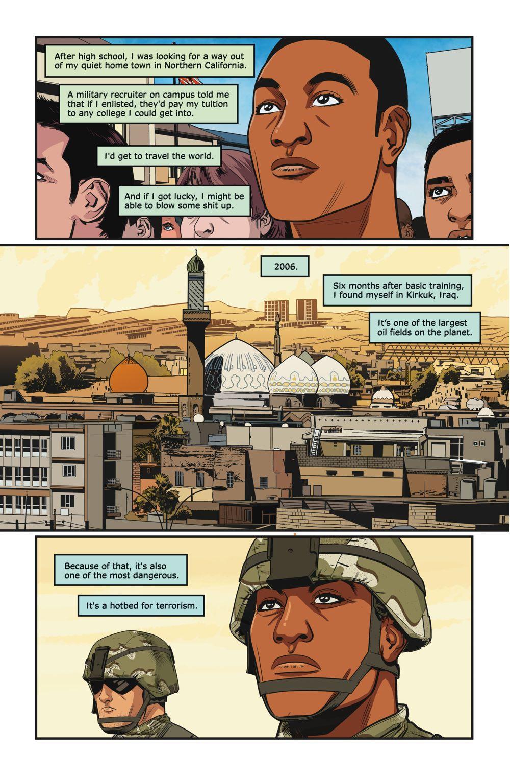 e102e001-e32a-4f24-9d30-10e546525020 TRUE WAR STORIES to debut in comic shops on November 25