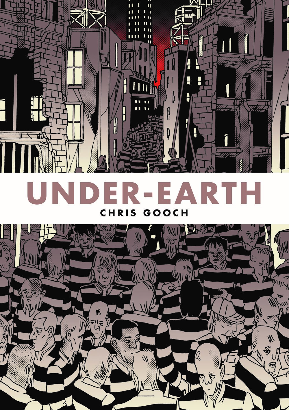 underEarth-frontCovFINAL ComicList Previews: UNDER-EARTH TP