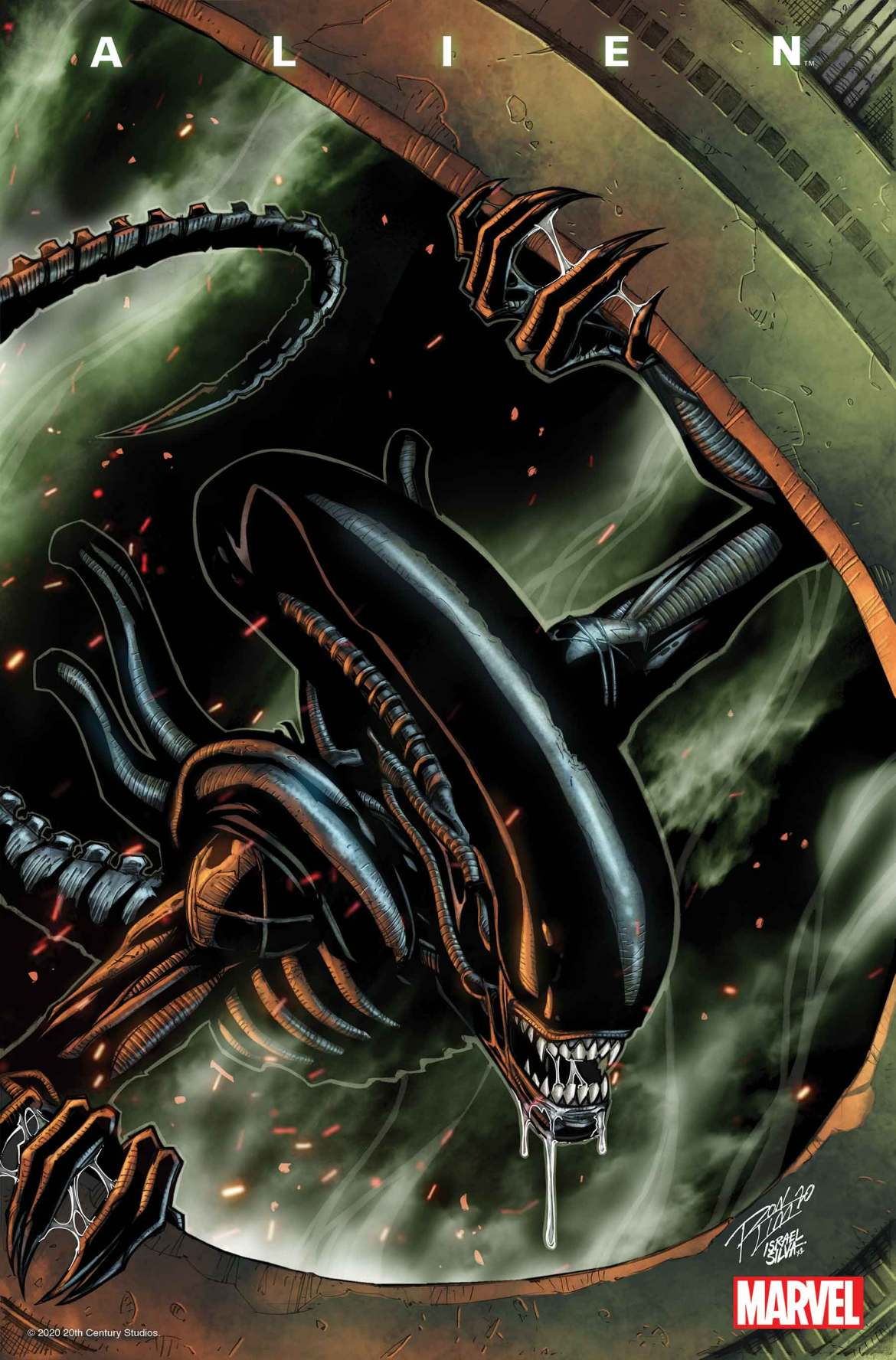 ALIEN2021001_Lim Marvel Comics March 2021 Solicitations