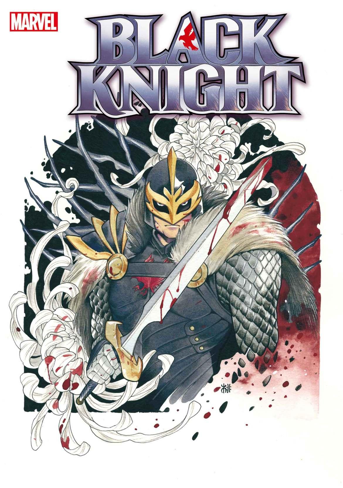 BLKKNGHT2021001_momoko Marvel Comics March 2021 Solicitations