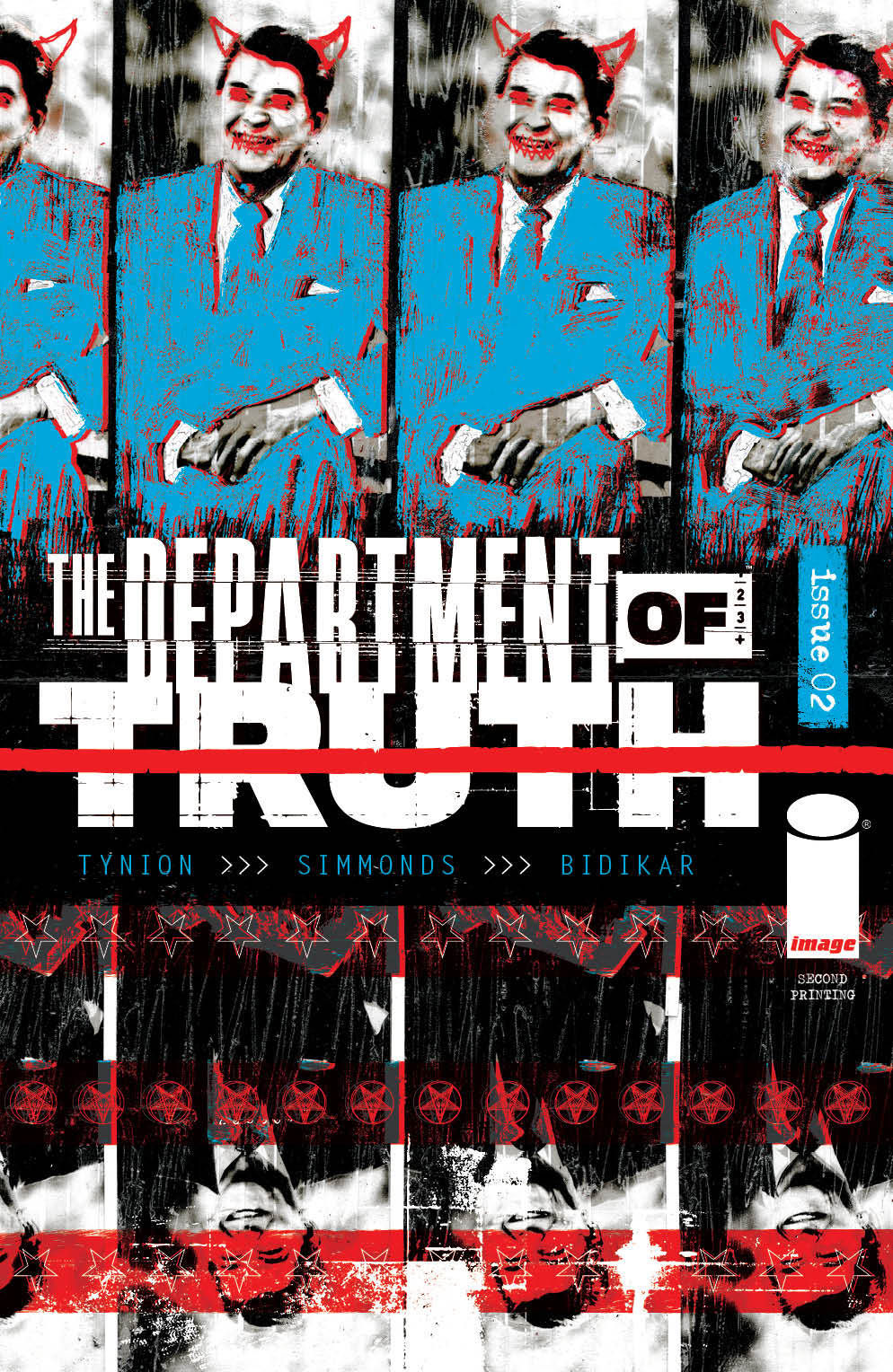 DeptofTruth_02-2ndPrint_150_c6815a0147f8285e3b5042ebb3626151 Three issues of THE DEPARTMENT OF TRUTH sell out