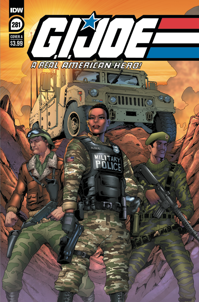 GIJoeRAH281-coverA IDW Publishing March 2021 Solicitations