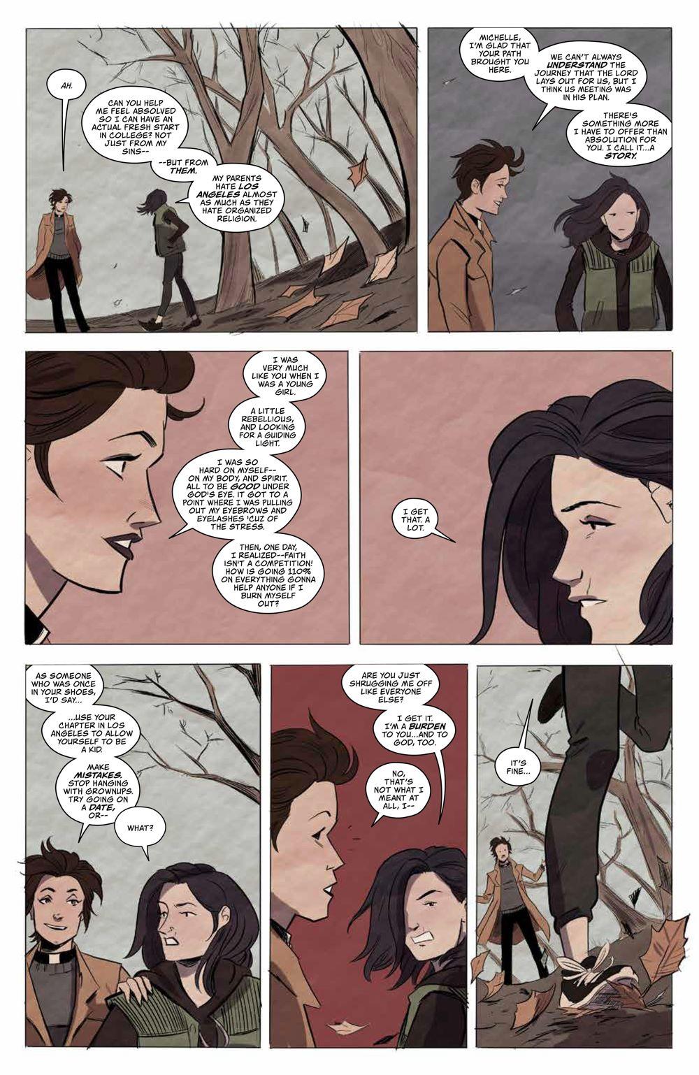 GhostedInLA_v3_SC_PRESS_11 ComicList Previews: GHOSTED IN L.A. VOLUME 3 TP