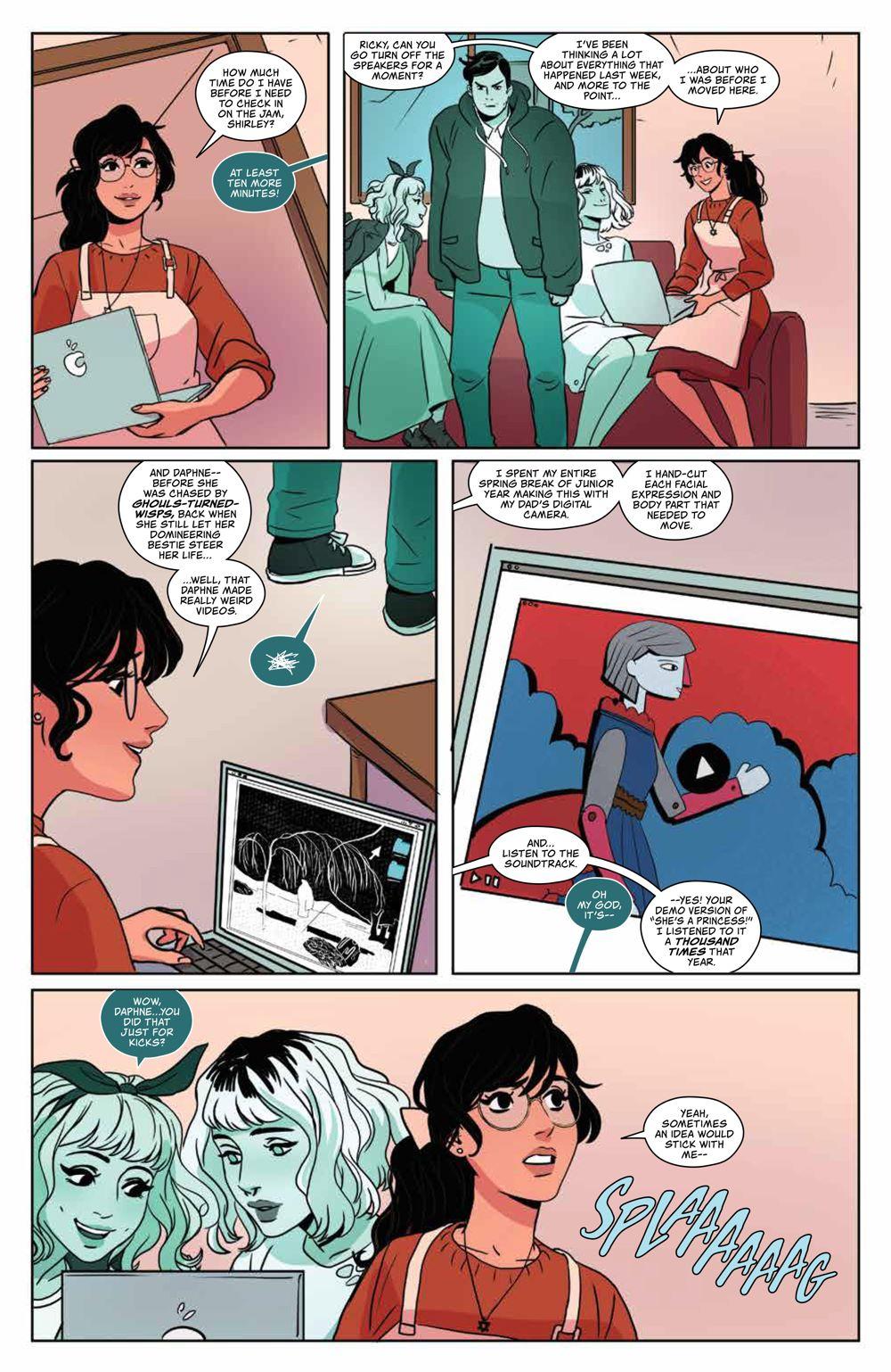 GhostedInLA_v3_SC_PRESS_15 ComicList Previews: GHOSTED IN L.A. VOLUME 3 TP