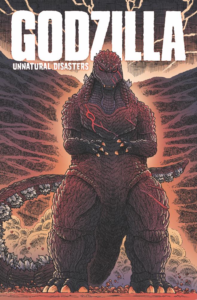 Godzilla-UD_cvr IDW Publishing March 2021 Solicitations